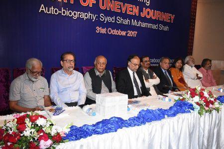 Shah Muhammad Shah\'s Book Launching, Arts Council Karachi (4)