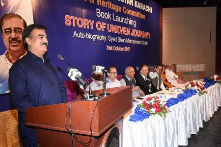 Shah Muhammad Shah\'s Book Launching, Arts Council Karachi (5)