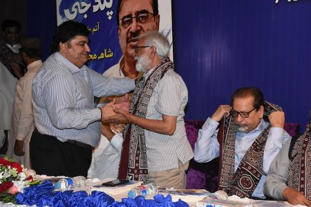 Shah Muhammad Shah\'s Book Launching, Arts Council Karachi (9)