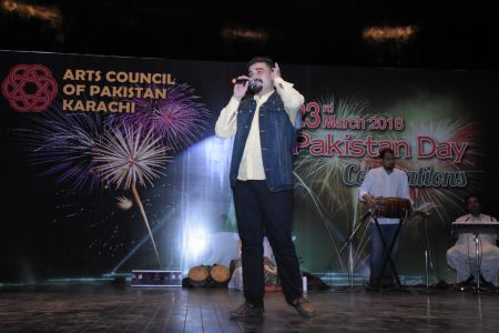 Shahzeb Ali During 23rd March Celebrations At Arts Council Of Pakistan Karachi (17)