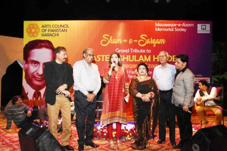Sham-e-Sargam, Tribute To Master Ghulam Haider At Arts Council Karachi (6)