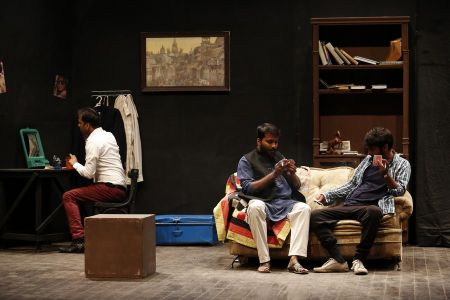 Sindh Theater Festival Drama Dark Room (5)