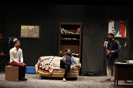 Sindh Theater Festival Drama Dark Room (7)