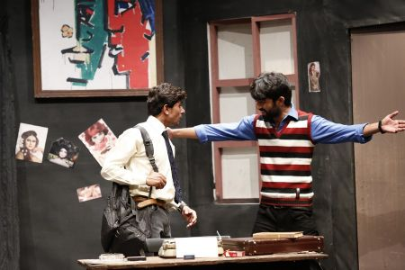 Sindh Theater Festival Drama Dark Room (9)