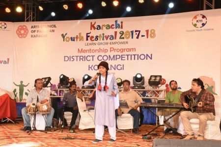 Singing Competition Distt. Korangi Youth Festival (10)
