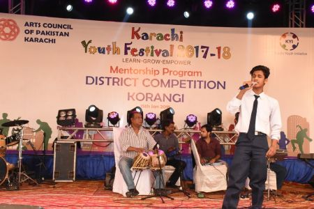Singing Competition Distt. Korangi Youth Festival (17)