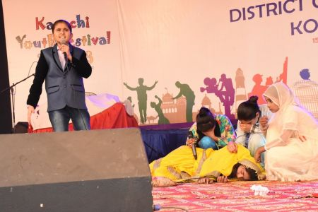 Singing Competition Distt. Korangi Youth Festival (6)