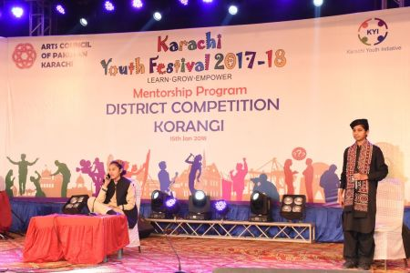 Singing Competition Distt. Korangi Youth Festival (7)