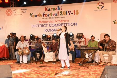Singing Competition Distt. Korangi Youth Festival (9)