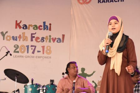 Singing Competition Of District Central, Karachi Youth Festival 2017-18, Arts Council (11)