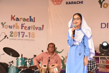 Singing Competition Of District Central, Karachi Youth Festival 2017-18, Arts Council (12)