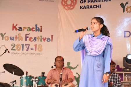Singing Competition Of District Central, Karachi Youth Festival 2017-18, Arts Council (13)