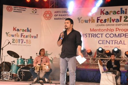Singing Competition Of District Central, Karachi Youth Festival 2017-18, Arts Council (14)