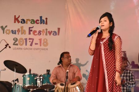 Singing Competition Of District Central, Karachi Youth Festival 2017-18, Arts Council (15)