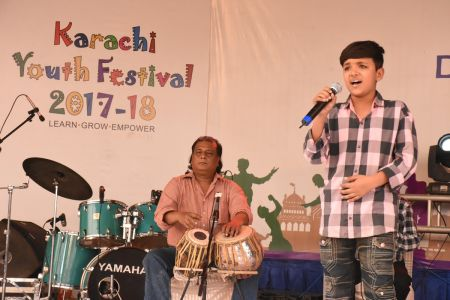 Singing Competition Of District Central, Karachi Youth Festival 2017-18, Arts Council (16)