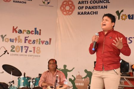 Singing Competition Of District Central, Karachi Youth Festival 2017-18, Arts Council (18)