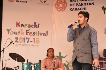 Singing Competition Of District Central, Karachi Youth Festival 2017-18, Arts Council (19)
