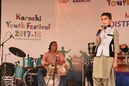 Singing Competition Of District Central, Karachi Youth Festival 2017-18, Arts Council (20)