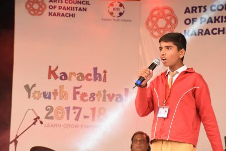 Singing Competition Of District Central, Karachi Youth Festival 2017-18, Arts Council (21)
