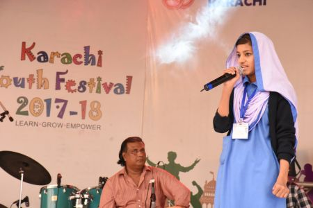 Singing Competition Of District Central, Karachi Youth Festival 2017-18, Arts Council (23)