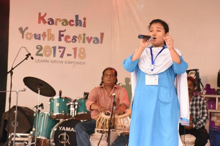 Singing Competition Of District Central, Karachi Youth Festival 2017-18, Arts Council (24)