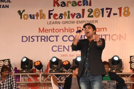 Singing Competition Of District Central, Karachi Youth Festival 2017-18, Arts Council (26)