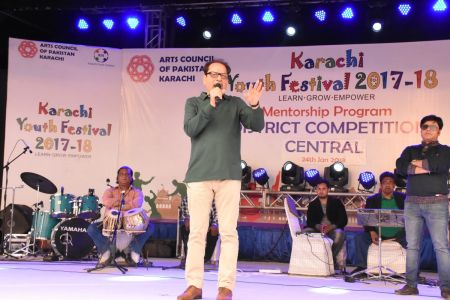 Singing Competition Of District Central, Karachi Youth Festival 2017-18, Arts Council (3)