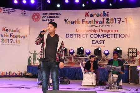 Singing Competitions District East, Karachi Youth Festival 2017-18 (1)