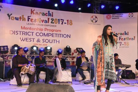 Singing Competitions Of District West & South Youth Festival 2017-18 Arts Council Karachi (10)