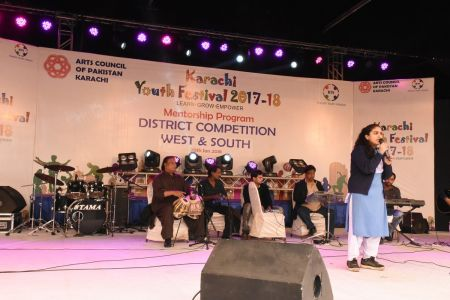 Singing Competitions Of District West & South Youth Festival 2017-18 Arts Council Karachi (12)