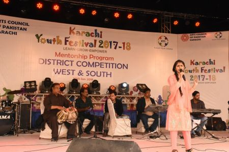 Singing Competitions Of District West & South Youth Festival 2017-18 Arts Council Karachi (13)
