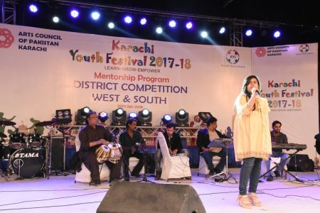 Singing Competitions Of District West & South Youth Festival 2017-18 Arts Council Karachi (14)