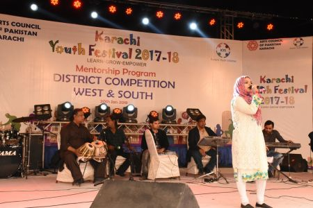 Singing Competitions Of District West & South Youth Festival 2017-18 Arts Council Karachi (15)