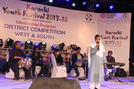 Singing Competitions Of District West & South Youth Festival 2017-18 Arts Council Karachi (16)
