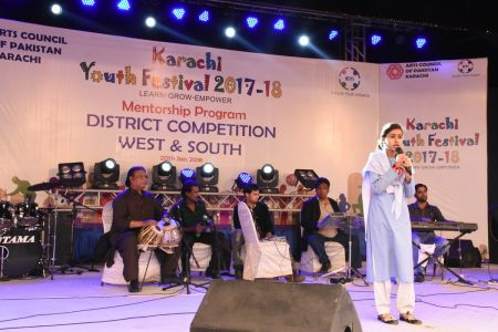 Singing Competitions Of District West & South Youth Festival 2017-18 Arts Council Karachi (17)