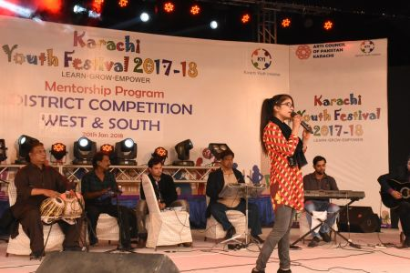 Singing Competitions Of District West & South Youth Festival 2017-18 Arts Council Karachi (19)