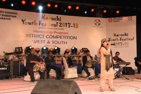Singing Competitions Of District West & South Youth Festival 2017-18 Arts Council Karachi (20)
