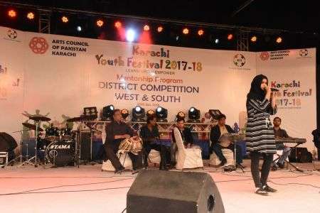 Singing Competitions Of District West & South Youth Festival 2017-18 Arts Council Karachi (21)