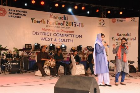 Singing Competitions Of District West & South Youth Festival 2017-18 Arts Council Karachi (22)