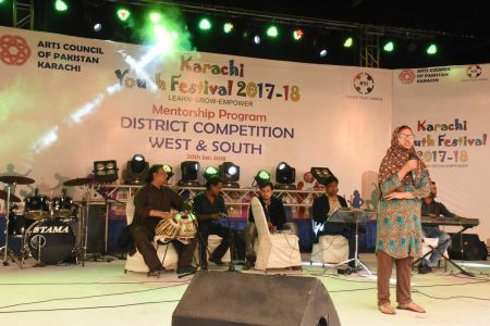 Singing Competitions Of District West & South Youth Festival 2017-18 Arts Council Karachi (23)
