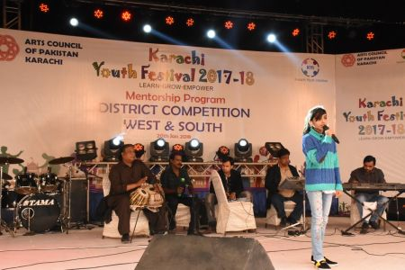 Singing Competitions Of District West & South Youth Festival 2017-18 Arts Council Karachi (26)