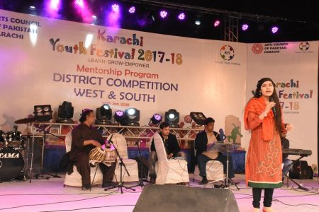 Singing Competitions Of District West & South Youth Festival 2017-18 Arts Council Karachi (27)