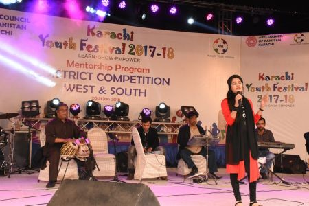 Singing Competitions Of District West & South Youth Festival 2017-18 Arts Council Karachi (28)