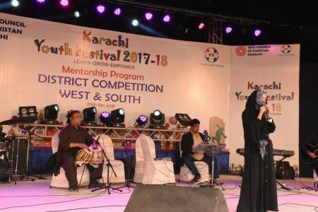 Singing Competitions Of District West & South Youth Festival 2017-18 Arts Council Karachi (29)