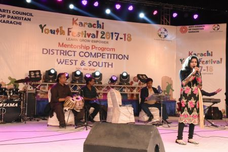 Singing Competitions Of District West & South Youth Festival 2017-18 Arts Council Karachi (30)