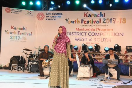 Singing Competitions Of District West & South Youth Festival 2017-18 Arts Council Karachi (33)