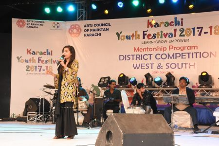 Singing Competitions Of District West & South Youth Festival 2017-18 Arts Council Karachi (34)