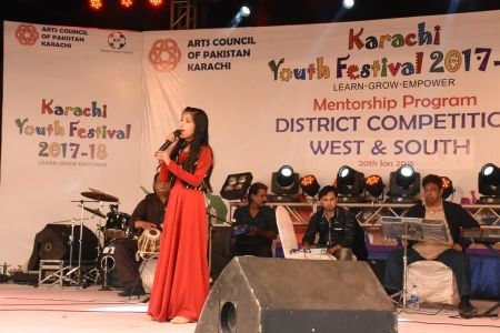 Singing Competitions Of District West & South Youth Festival 2017-18 Arts Council Karachi (35)