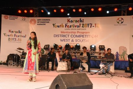 Singing Competitions Of District West & South Youth Festival 2017-18 Arts Council Karachi (39)
