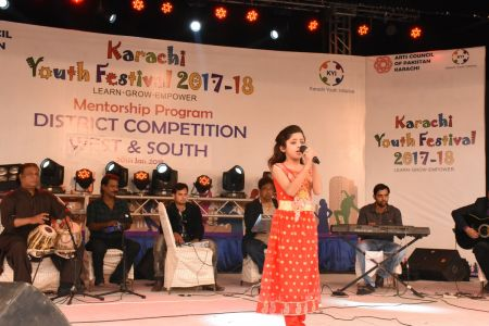 Singing Competitions Of District West & South Youth Festival 2017-18 Arts Council Karachi (3)